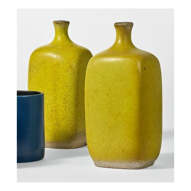 View 1. Thumbnail of Lot 217. GEORGES JOUVE | PAIR OF VASES.
