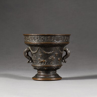 ATTRIBUTED TO THE ALBERGHETTI FOUNDRY | MORTAR
