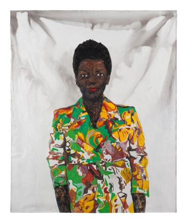 View 1. Thumbnail of Lot 409. Thelma in Colored Blazer.