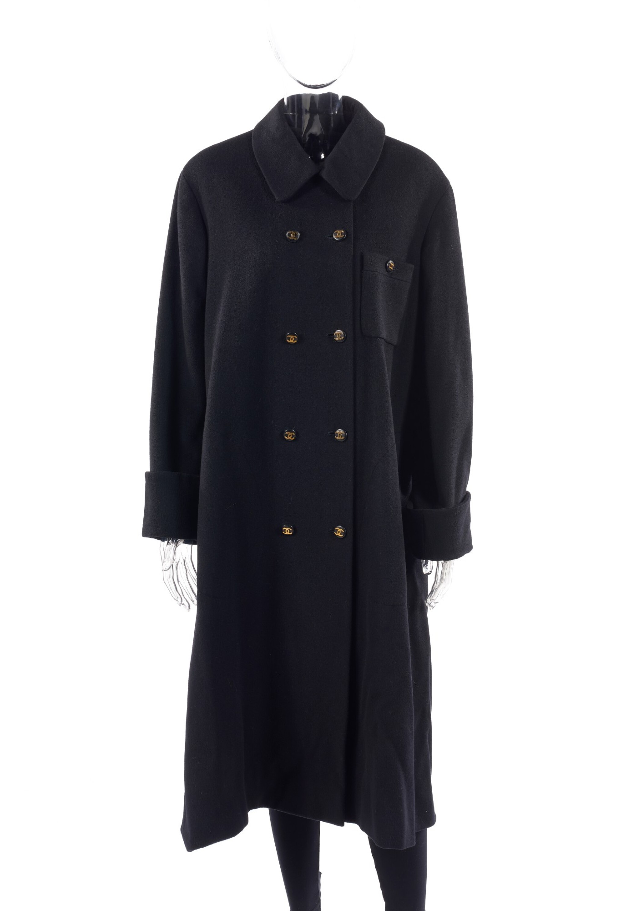 BLACK COAT, CHANEL