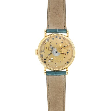 View 4. Thumbnail of Lot 88. REFERENCE 7027 LA TRADITION A YELLOW GOLD SEMI-SKELETONIZED WRISTWATCH WITH POWER RESERVE INDICATION, CIRCA 2005.