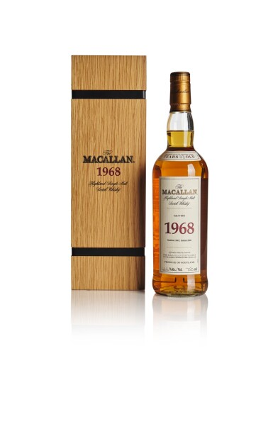 THE MACALLAN FINE & RARE 33 YEAR OLD 46.6 ABV 1968