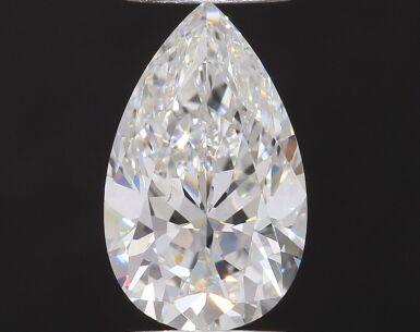 A 2.20 Carat Pear-Shaped Diamond, F Color, Internally Flawless
