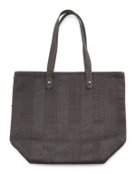 Leather and polyester with palladium hardware shoulder bag, Chennai tote bag , Hermès, 2008