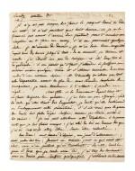 LA FAYETTE, comtesse de. LAS à Gilles Ménage. [1656]. Avec une lettre de Madame Roland.