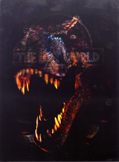 THE LOST WORLD: JURASSIC PARK (1997) 3-D LENTICULAR POSTER, US