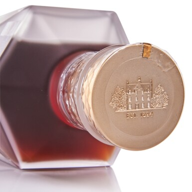 View 4. Thumbnail of Lot 76. The Macallan No. 6 In Lalique Decanter 43.0 abv NV .