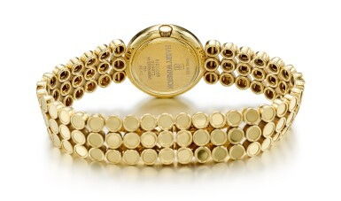 GOLD AND DIAMOND WRISTWATCH, HARRY WINSTON  | K金 配 鑽石 腕錶, 海瑞溫斯頓 ( Harry Winston )