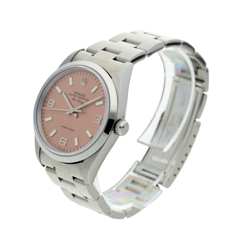 Airking, Reference 14000  A Stainless Steel Automatic Wristwatch with Bracelet, circa 1996