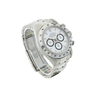 View 3. Thumbnail of Lot 18. ROLEX   REFERENCE 16520 'ZENITH' DAYTONA A STAINLESS STEEL AUTOMATIC CHRONOGRAPH WRISTWATCH WITH BRACELET, CIRCA 1994.