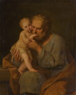 MARCANTONIO FRANCESCHINI | Saint Joseph with the Christ Child