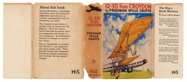 View 3. Thumbnail of Lot 80. Freeman Wills Crofts | The 12.30 from Croydon, 1934, inscribed to the author.