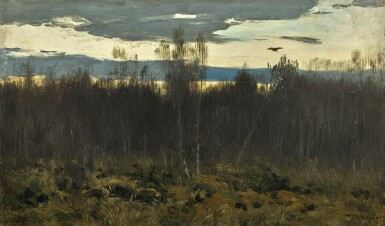 ISAAK ILICH LEVITAN | EVENING, STUDY
