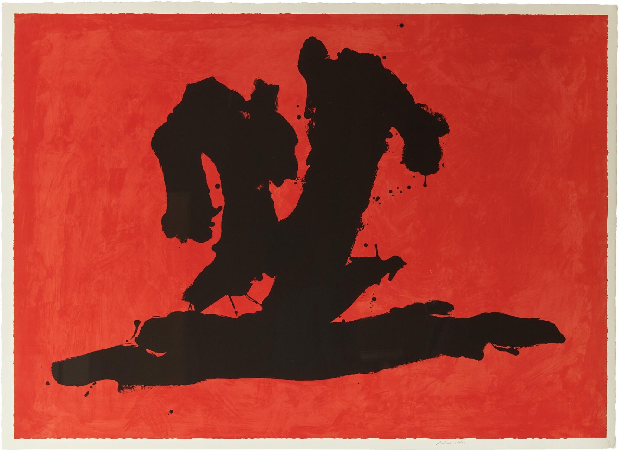 View full screen - View 1 of Lot 81. ROBERT MOTHERWELL | WAVE (WALKER ART CENTER 475).