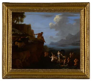 View 3. Thumbnail of Lot 26. Polyphemus and Galatea; The Judgment of Paris.