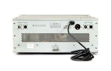 View 4. Thumbnail of Lot 30. Oscilloscope Telemetry Control Panel.