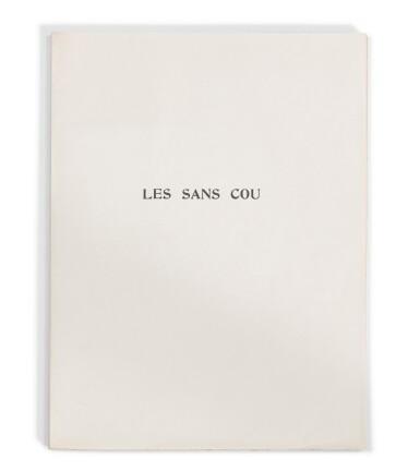 View 3. Thumbnail of Lot 167. Les Sans cou. 1934. 1/130 ex. Eau-forte originale de Masson. Envoi a.s. de Desnos à Skira.