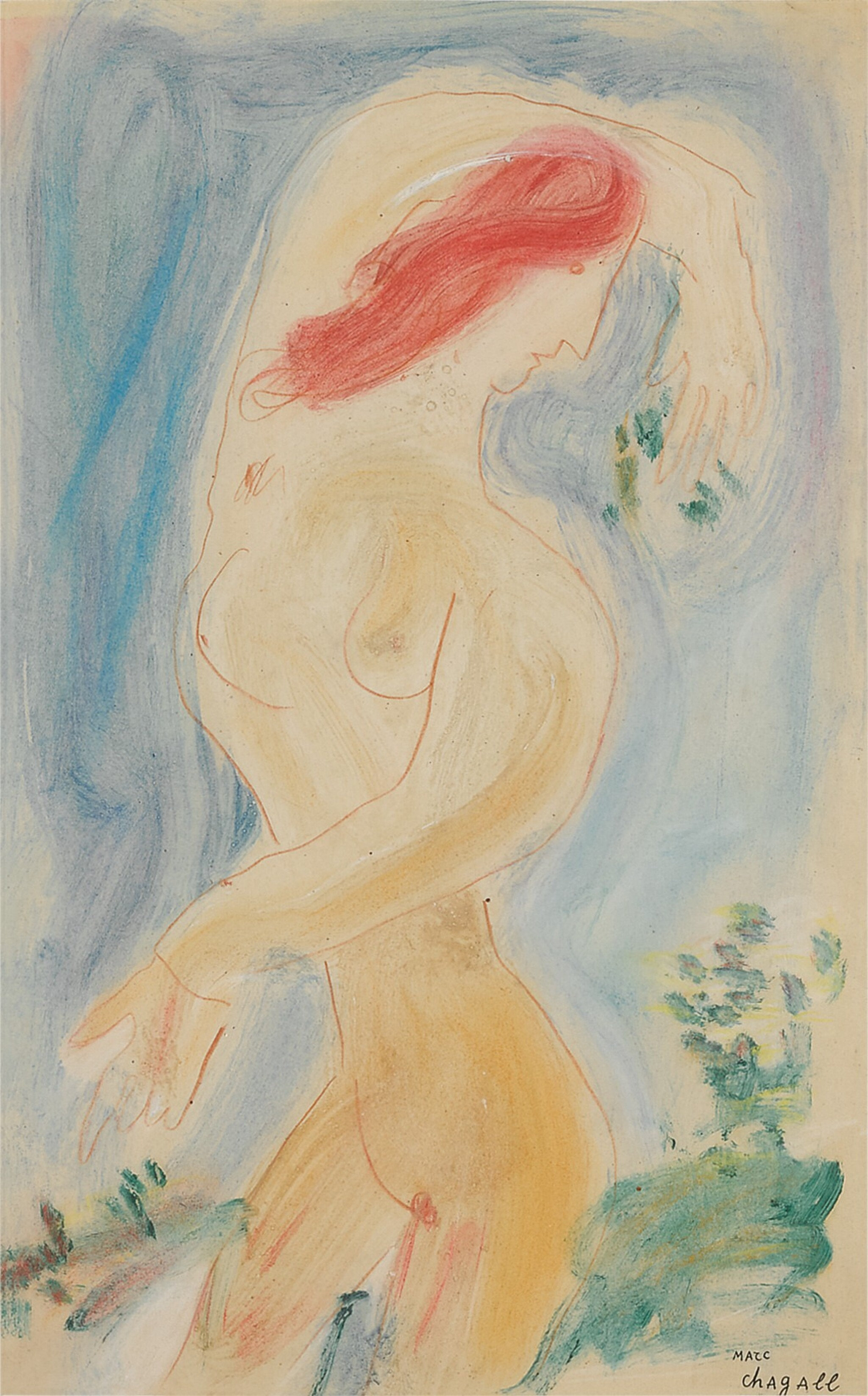 View full screen - View 1 of Lot 29. Femme nue.