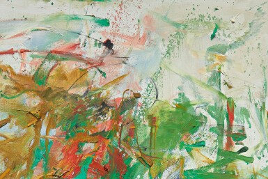 View 3. Thumbnail of Lot 7. JOAN MITCHELL | GARDEN PARTY.