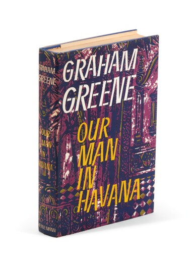 View 2. Thumbnail of Lot 98. Greene, Our Man in Havana, 1958, inscribed.