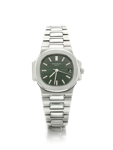 PATEK PHILIPPE | REF 3800/1, A STAINLESS STEEL AUTOMATIC CENTER SECONDS BRACELET WATCH WITH DATE MADE IN 1983