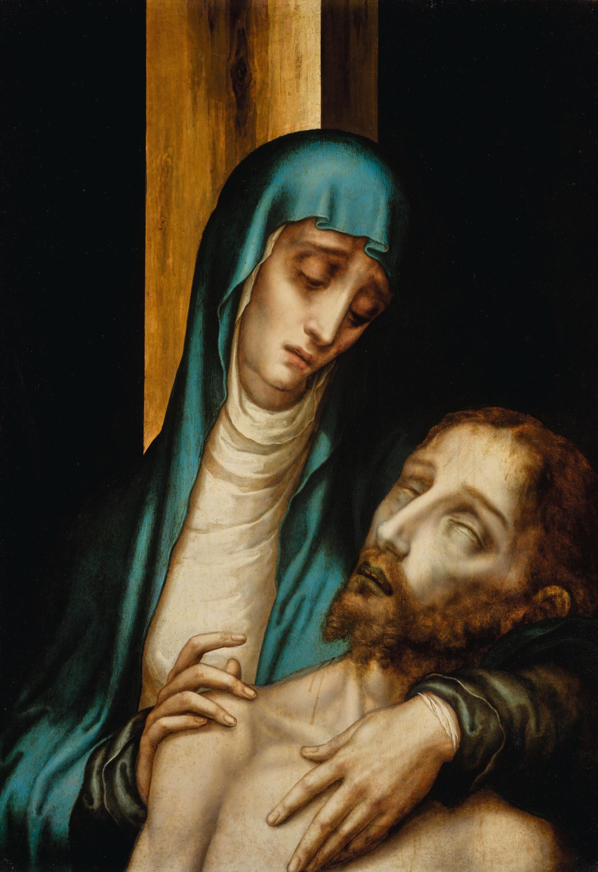 LUIS DE MORALES | Pietà | 路易斯・德・莫拉雷斯 | 《聖殤》