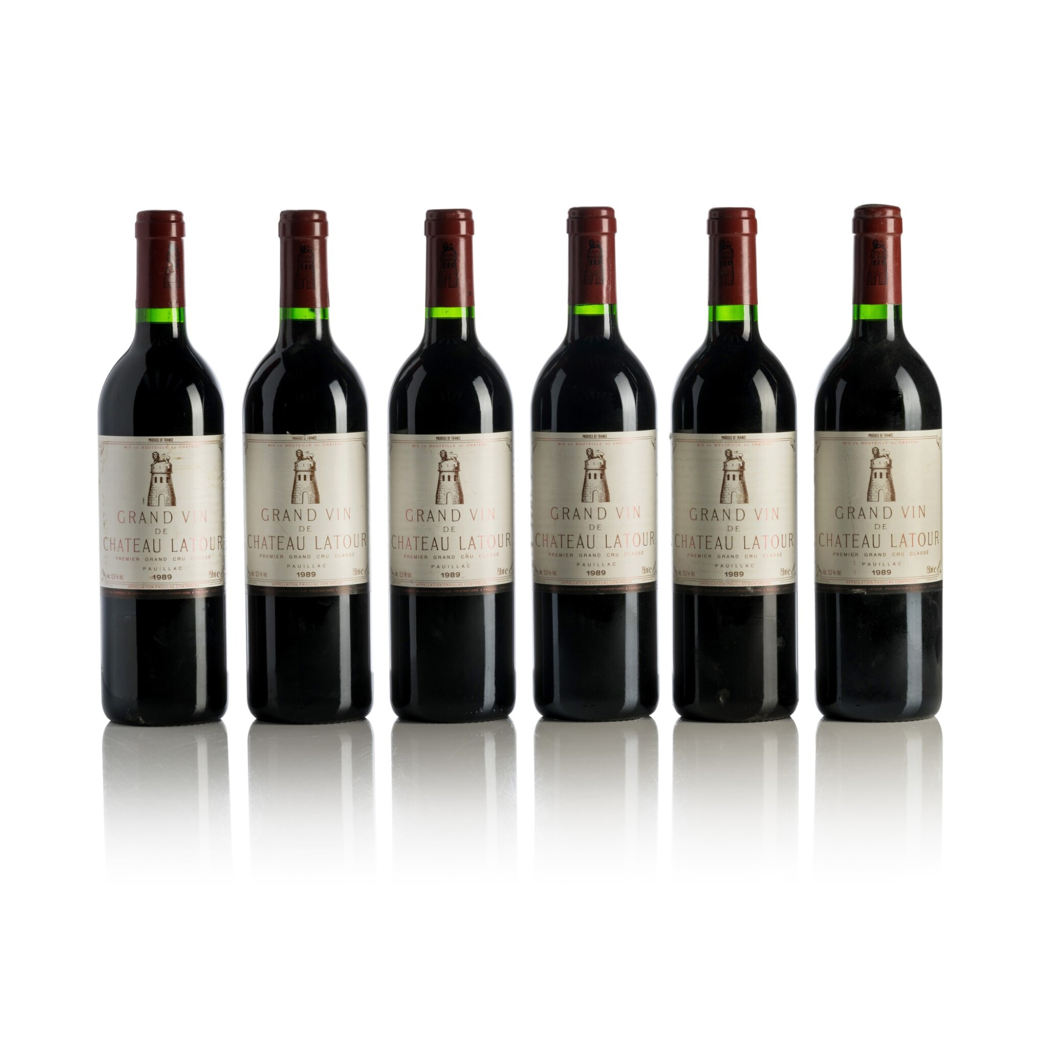 View full screen - View 1 of Lot 252. Château Latour 1989  (12 BT).