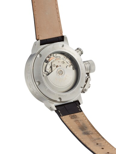 View 3. Thumbnail of Lot 8114. U-BOAT   CRONOGRAFO, REFERENCE U-7750/45   A STAINLESS STEEL CHRONOGRAPH WRISTWATCH WITH DATE, CIRCA 2016   Cronografo 型號U-7750/45 精鋼計時腕錶,備日期顯示,約2016年製.