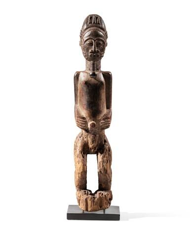 View 2. Thumbnail of Lot 206. Statue, Baulé, Côte d'Ivoire | Baule figure, Côte d'Ivoire.