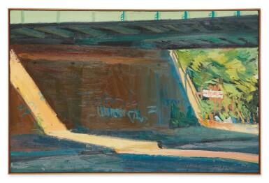 View 2. Thumbnail of Lot 584. RICHARD SHEEHAN | SUN UNDER FREEPORT BRIDGE.
