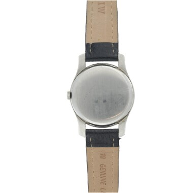 View 5. Thumbnail of Lot 62. REFERENCE 2487-5 A STAINLESS STEEL WRISTWATCH, CIRCA 1960.