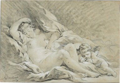 FRANÇOIS BOUCHER | VENUS AND CUPID