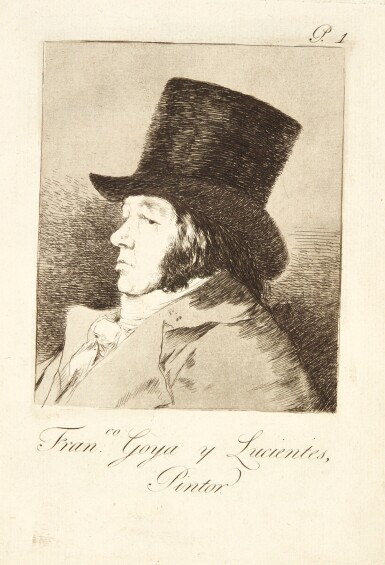 View 1. Thumbnail of Lot 38.  FRANCISCO JOSÉ DE GOYA Y LUCIENTES | LOS CAPRICHOS (DELTEIL 38-117; HARRIS 36-115).