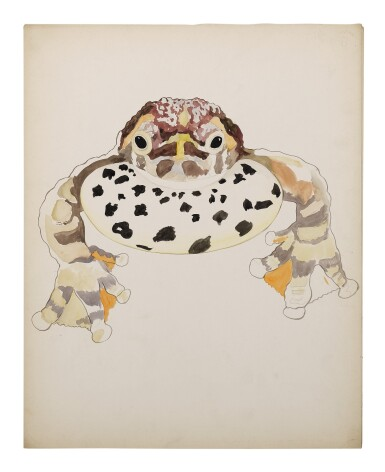 View 4. Thumbnail of Lot 4. THREE WORKS: BUFO TOADS.