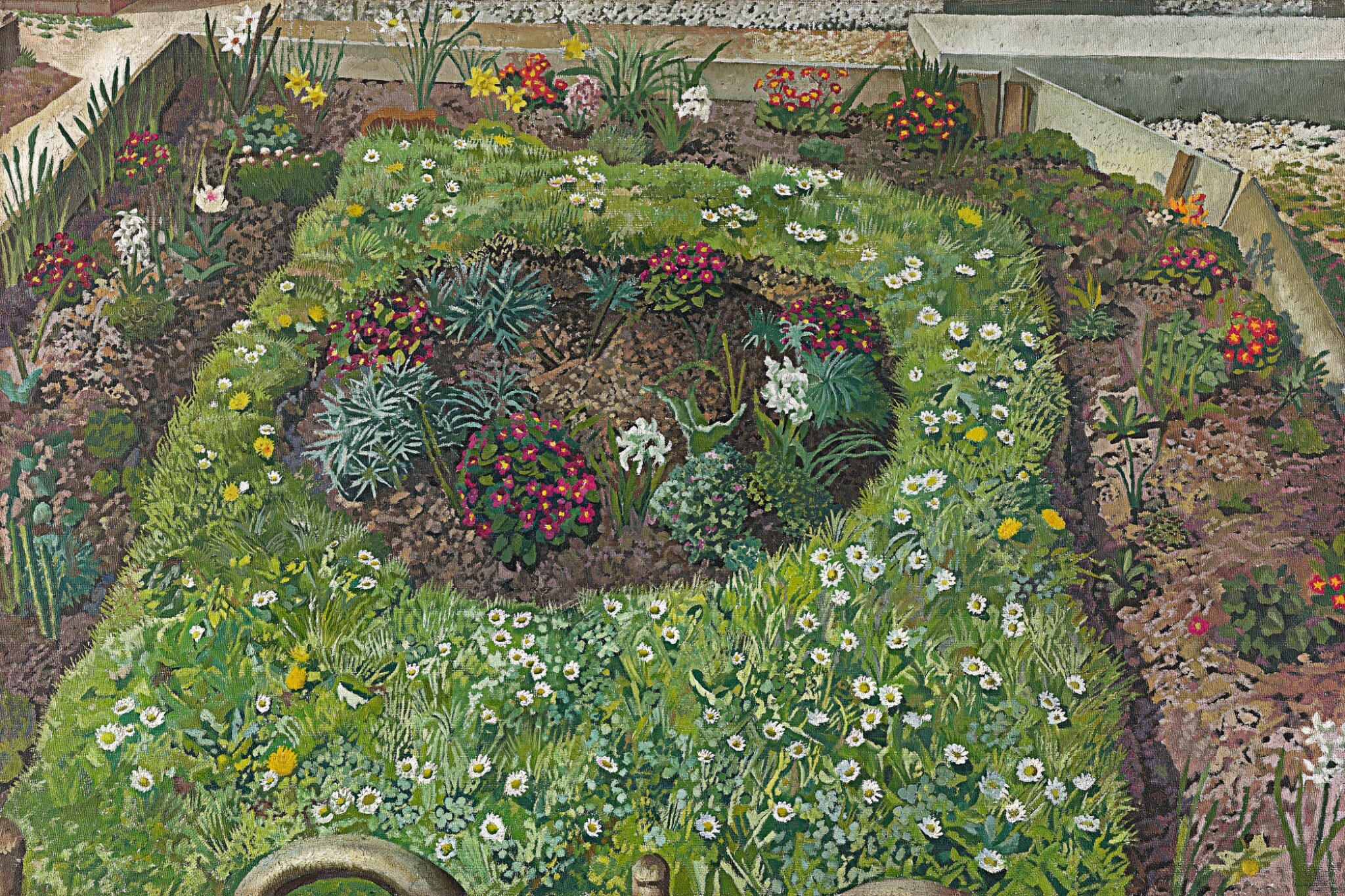 View 1 of Lot 48. SIR STANLEY SPENCER, R.A.  | COTTAGE GARDEN, LEONARD STANLEY.