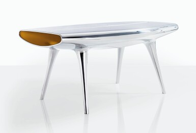 View 1. Thumbnail of Lot 132. MARC NEWSON   EVENT HORIZON TABLE.