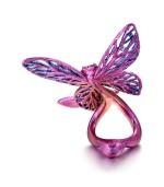 WALLACE CHAN | 'LOVERS' GEM SET AND DIAMOND RING | 陳世英 | 'Lovers' 寶石 配 鑽石 戒指