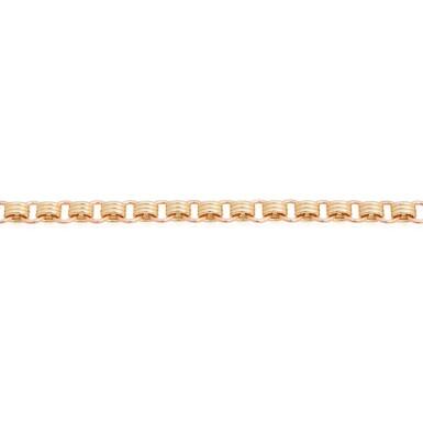 View 3. Thumbnail of Lot 19. Sherman Field   18 Karat Yellow and Pink Gold Triple Chain Bracelet.