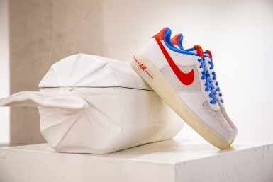 View 3. Thumbnail of Lot 8212. Air Force 1 Supreme Quickstrike 'Year of the Rabbit', 2011    兔年款球鞋,2011年.