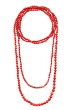 Coral necklace [Sautoir corail]
