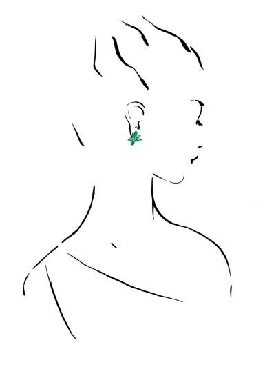 GRAFF | PAIR OF EMERALD EARRINGS