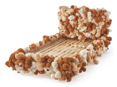 "FERNANDO CAMPANA AND HUMBERTO CAMPANA | PROTOTYPE ""TEDDY BEAR"" SINGLE BED"