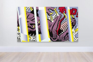View 2. Thumbnail of Lot 1112. Roy Lichtenstein 羅伊・李奇登斯坦 | Reflections on Thud! .