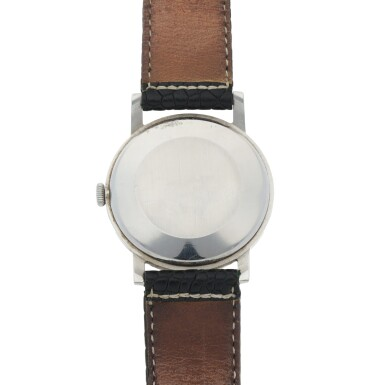 View 4. Thumbnail of Lot 175. STAINLESS STEEL WRISTWATCH CIRCA 1956.