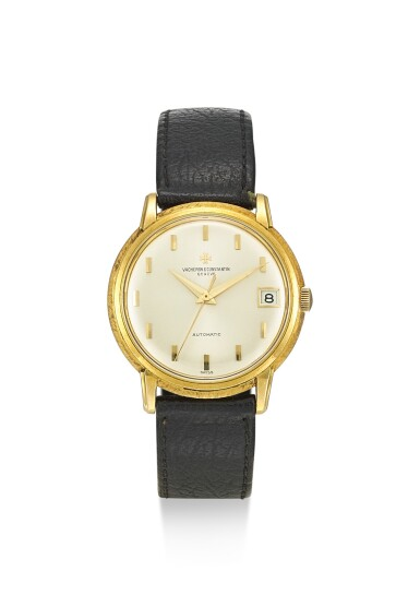 View 1. Thumbnail of Lot 8159. VACHERON CONSTANTIN | REFERENCE 6394, A YELLOW GOLD WRISTWATCH WITH DATE, CIRCA 1960.