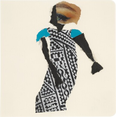 View 8. Thumbnail of Lot 801. DEBORAH ROBERTS | THE HISTORY OF EVERYTHING, PART THREE.