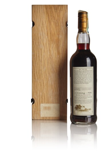 View 2. Thumbnail of Lot 160. THE MACALLAN FINE & RARE 60 YEAR OLD 42.6 ABV 1926 .