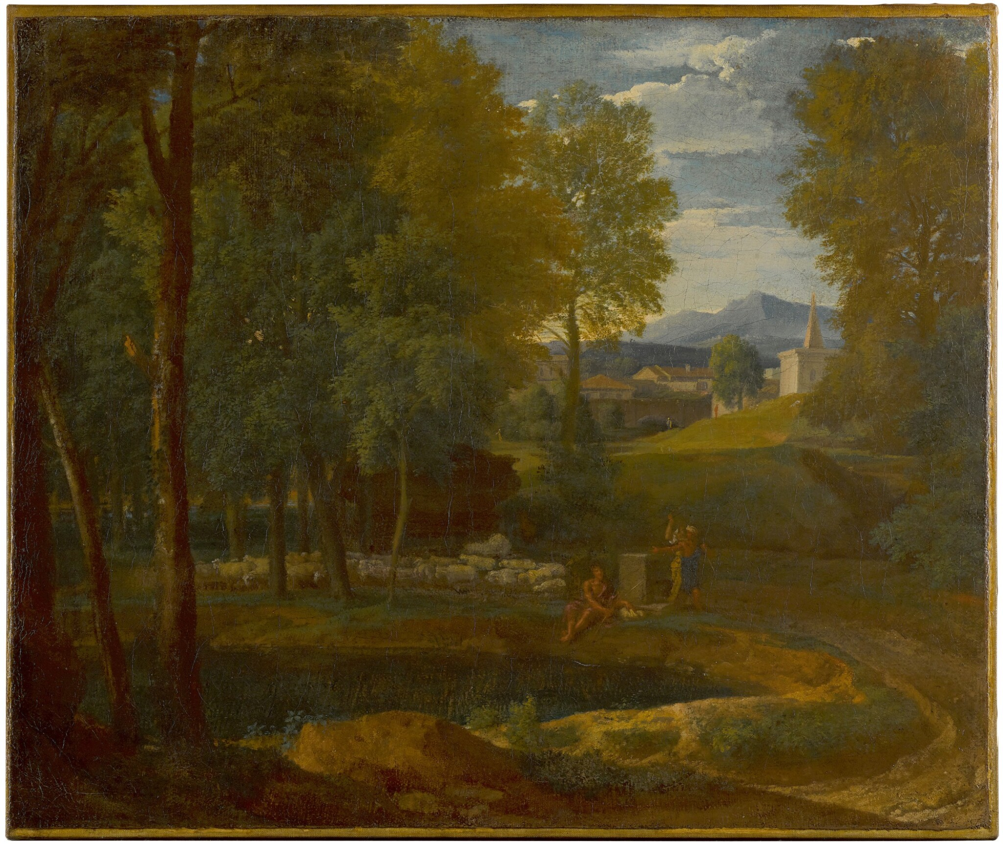 View 1 of Lot 167. A classical landscape.
