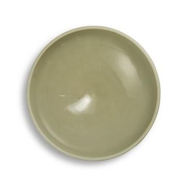 View 1. Thumbnail of Lot 96. A 'Yaozhou' 'moon-white' glazed bowl, Northern Song - Jin dynasty | 北宋至金 耀州窰月白釉盌.