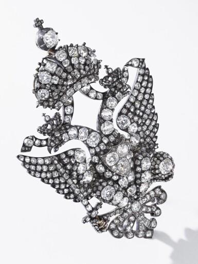 View 4. Thumbnail of Lot 166. Important diamond brooch, late 19th century | 鑽石別針,十九世紀末.